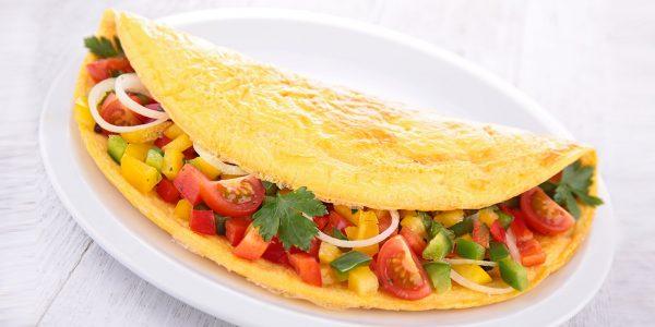 Omelette - Doctor chef - Federico Francesco Ferrero
